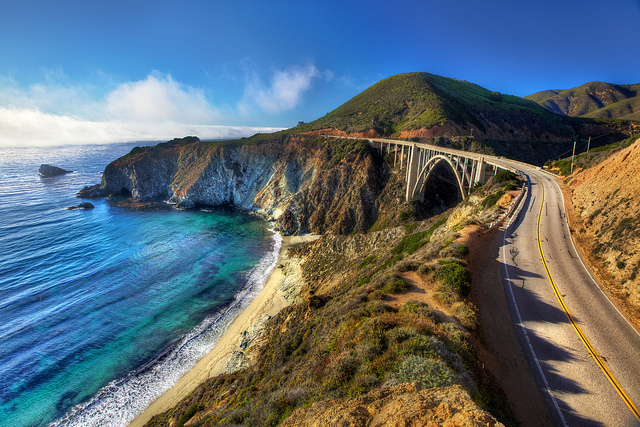 Kærestetur til Californen med Highway 1