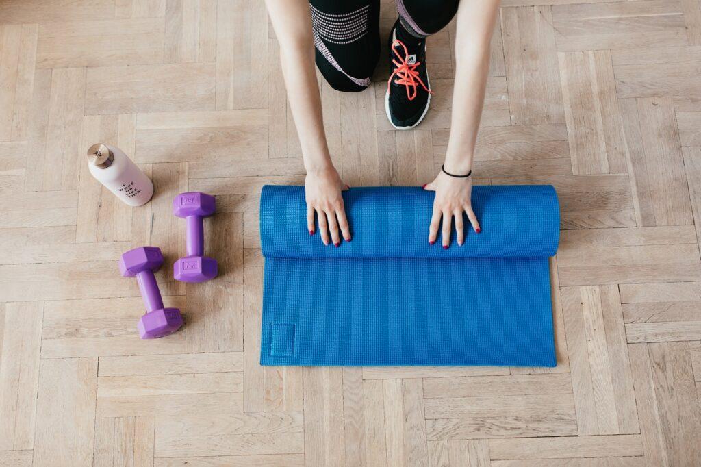 Sådan kan du motionere i hjemmet